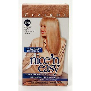 Nice n Easy # 101B Light Champagne Blonde Hair Colors (Pack of 4