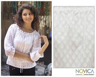 Cotton Summer Breeze Blouse (India)