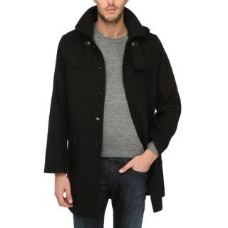 TORRENTE COUTURE Duffle Coat Homme Noir   Achat / Vente MANTEAU