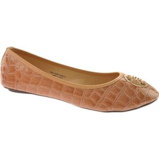 Womens Vecceli Italy BF 102 Beige Compressed Leather