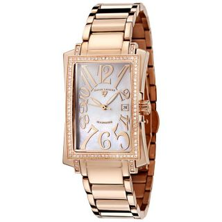 Swiss Legend Womens Bella Rose Goldtone Ion plated Diamond Watch