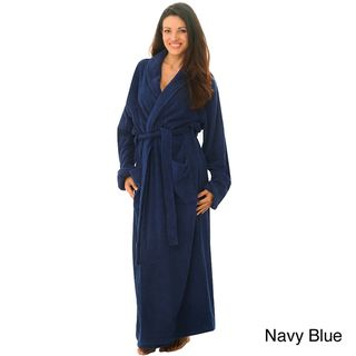 Womens Terry Cotton Full length Bath Robe