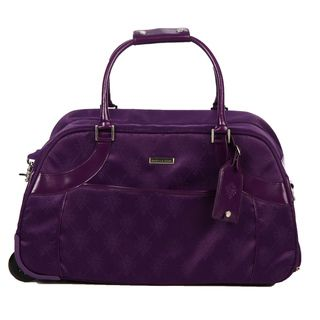 Isabella Fiore Signature 32 inch Wheeled Upright Duffel Bag