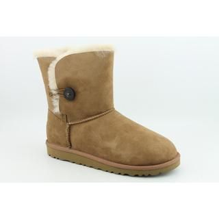 Ugg Australia Youth Girls Bailey Button Regular Suede Boots