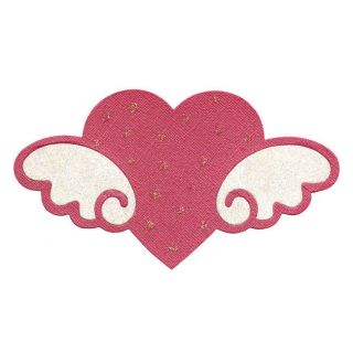 Sizzix Bigz Die Heart with Wings