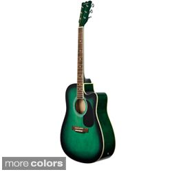 Priced Acoustic Electric Guitar Today $97.99   $104.99