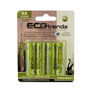 Ecotrends Eco friendly Rechargeable AA Batteries (Pack of 4