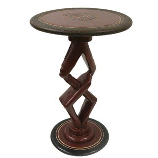 Handcrafted Partners Accent Table (Ghana)