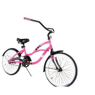 Dynacraft 20 inch Girls Cruiser Bike   Hello Kitty Sports