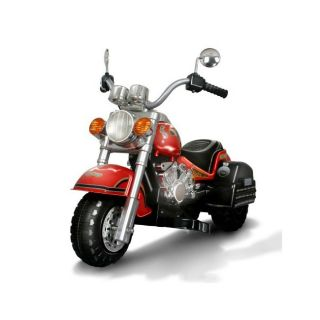 Harley style Red Battery Operated Chopper Motorcycle Ride on