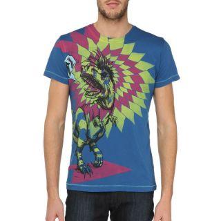 DIESEL T Shirt Onion Homme Bleu, jaune et rouge Bleu, jaune et rouge