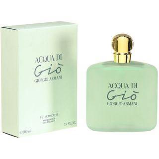 Giorgio Armani Acqua di Gio Womens 3.4 ounce Eau de Toilette Spray