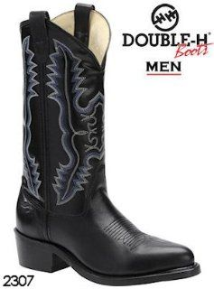 Double H Boots 12 Safety Toe Dress Western 2307 Shoes