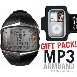 Polar FT60 Heart Rate Monitor Female Black with MP3