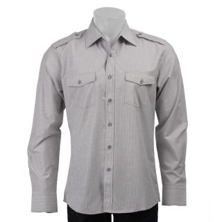 Unlimited 191 Mens Military Epaulet Shirt