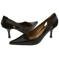 Nine West Nardine Dark Brown/Dark Brown Distressed Leather