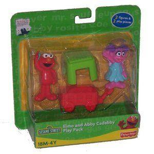 Sesame Street Elmo & Abby Cadabby Play Pack Toys & Games