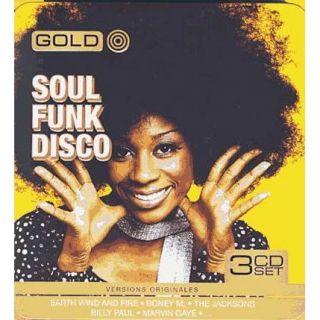 Gold metal box soul funk disco   Achat CD SOUL / FUNK / DISCO pas cher