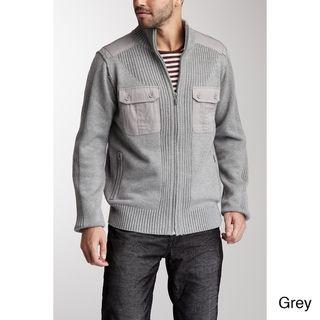 Ray Jeans Mens Zack Mixed Media Sweater