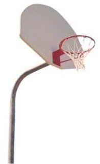 OD1 Gooseneck Pole Basketball System (Includes Fiberglass