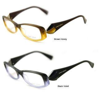 Giorgio Armani Womens GA 643 Plastic Eyeglasses
