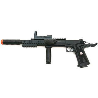 Spring Pistol FPS 200 Silencer Scope Laser Airsoft Gun