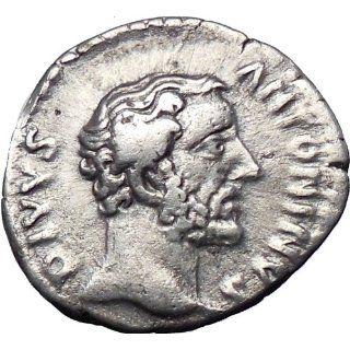 ANTONINUS PIUS 161AD under Marcus Aurelius Silver Authent
