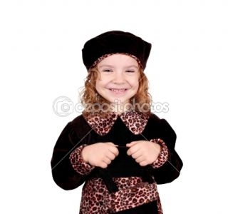 Cute little girl big smile  Stock Photo © goce risteski #7882064