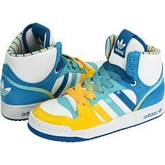 adidas Originals Game Mid White/Art Green/Native Blue Athletic