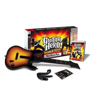 PACK GUITAR HERO WORLD TOUR (guitare + jeu) / Jeu   Achat / Vente