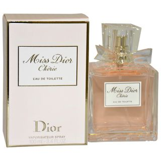 Christian Dior Miss Dior Cherie Womens 3.4 ounce Eau de Toilette