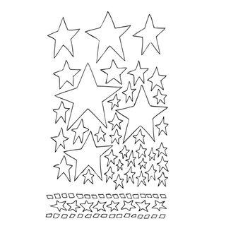 Dyan Reaveleys Dylusions Stencils 5X7 Starry Starry Night