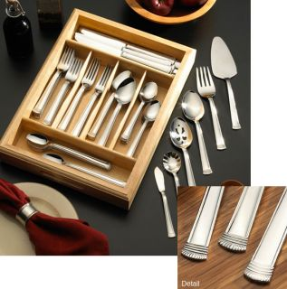 Wallace 102 piece Terrace Flatware Set