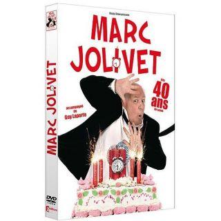 Marc Jolivet fête 40 ans en DVD FILM pas cher