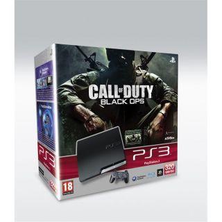 Pack PS3 320 Go + COD Black Ops + Voucher DLC   Achat / Vente