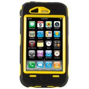 OtterBox Defender Case (Yellow/Black) w/ Belt Clip Holster