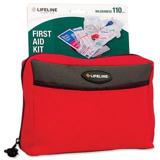 Lifeline First Aid Wilderness 110 pc First Aid Kit (Pack of 6) Today