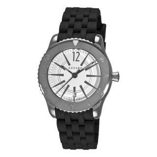 Azzaro Mens Coastline White Face Watch