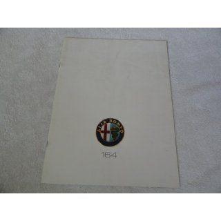 1991 Alfa Romeo 164   Sales Brochure