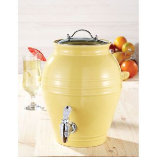 American Atelier Honey Pot Lemon Zest 203 oz Beverage Dispenser