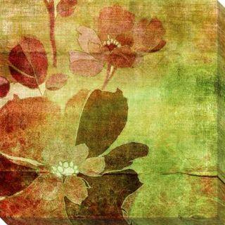 Vintage Floral Giclee Canvas Art
