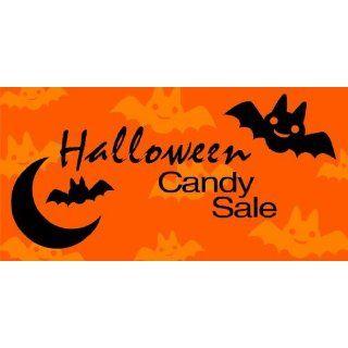 3x6 Vinyl Banner   Halloween Candy Sale