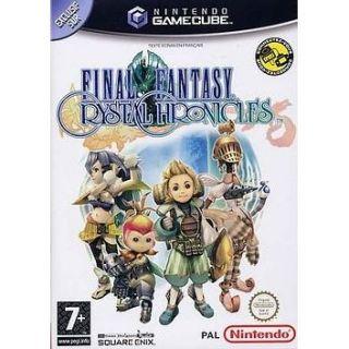 FINAL FANTASY  Crystal Chronicles en GAME CUBE pas cher