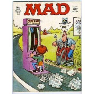 MAD Magazine No 165 March 1974 Drive O MAT: Everything
