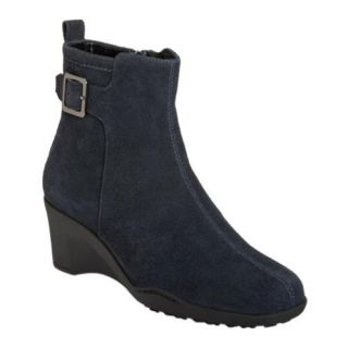 Womens Aerosoles Entorage Dark Blue Suede
