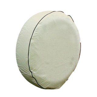 Camco 45358 24 Diameter Colonial White RV Vinyl Spare Tire Cover