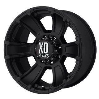 XD Series Revolver XD796 Matte Black Wheel (20x9/8x170mm)
