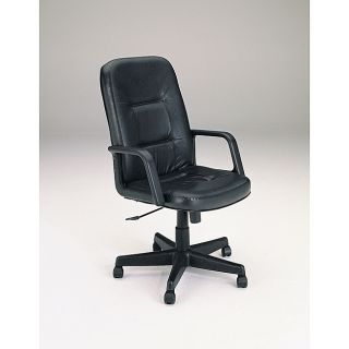 Genuine Leather Executive Chair With Pneumatic Lift Today $109.99