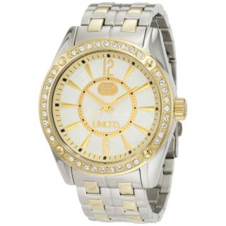 Marc Ecko Mens Two tone Crystal accented Watch Today $119.99