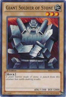 Yu Gi Oh!   Giant Soldier of Stone (BP01 EN171)   Battle